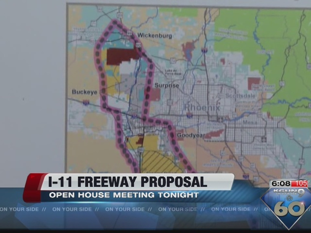 Learn More About Proposed Interstate 11 Route In Public Meetings