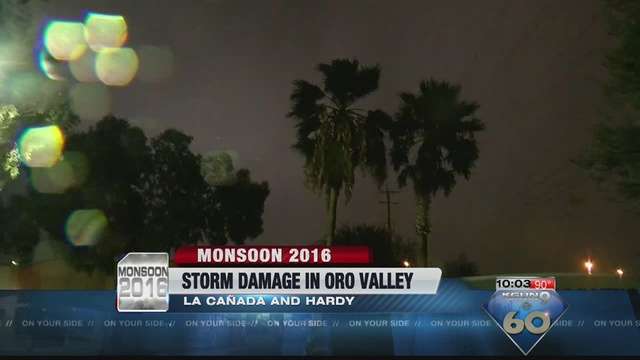 LIGHTS OUT: Oro Valley Residents Without Power After Microburst