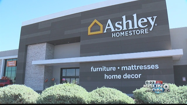 Ashley Home Store Holds Grand Opening Kgun9 Com