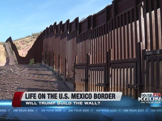 Trump Hourly Wall Build