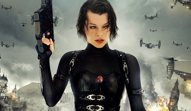 Resident Evil The Final Chapter Cast On Reclaiming: PHIL ON FILM: 'Resident Evil: The Final Chapter'
