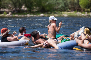 Guy Atchley's Arizona: Salt River Tubing!