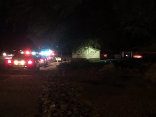 Shooting investigation at Green Leaf Apartments