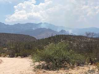 Two firefighters injured in Burro Fire