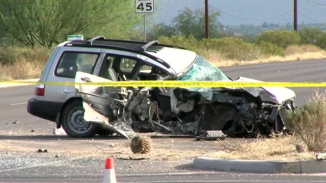 Car Accident Tucson This Morning
