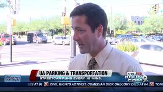 Public transporation options at UA