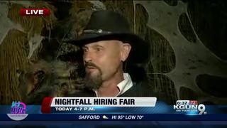 Old Tucson hosting hiring fair