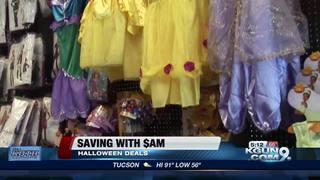 Saving money on Halloween costumes, candy
