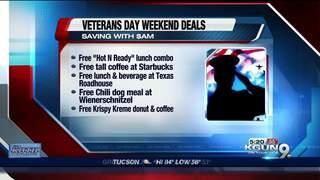 Veterans Day deals abound
