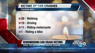 Remembering victims of car crashes in Tucson