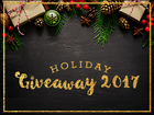 Holiday Giveaways 2017: Enter to win prizes!