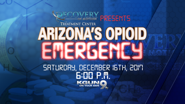 Arizona's Opioid Emergency, Saturday at 6:00 PM