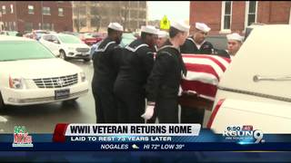 WWII Veteran laid to reset 7 decades later