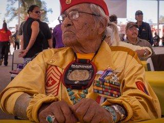Navajo Code Talker Teddy Draper Sr. dies in AZ
