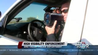 OVPD on High Visibility Enforcement for speeding