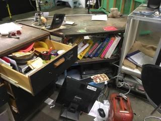 Community bike shop robbed and damaged