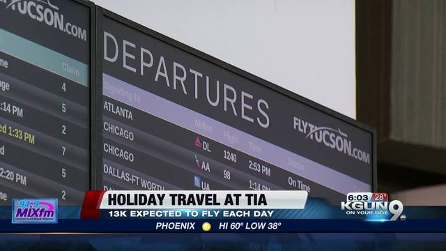 Tips for holiday travel at Cleveland Hopkins International Airport