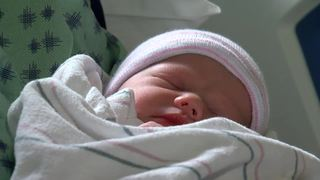 Tucson family welcomes new baby on Christmas Day