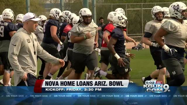 NMSU and Utah State meet in Arizona Bowl
