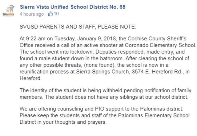 death at coronado elementary school being investigated as