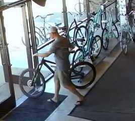 Deputies look for man who stole $4K bike