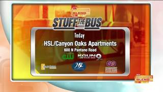Stuff the Bus at Canyon Oaks Apartments