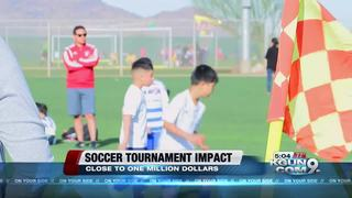 Soccer tournament impact on local economy