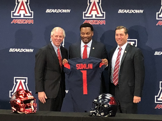 UA introduces Kevin Sumlin as head coach