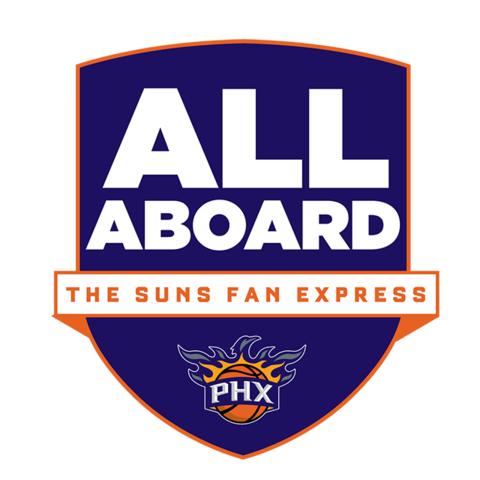 All Aboard the Suns Fan Express