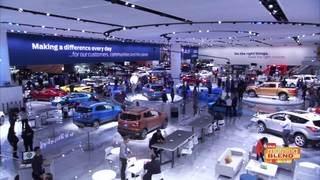Buzz at this year auto show is car color trends