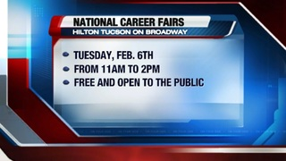National Career Fairs hosting hiring event