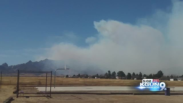 Some evacuations as Knob Hill fire grows to 2000 acres