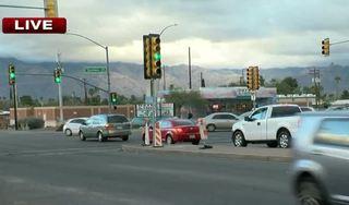 Pedestrian seriously injured in eastside wreck