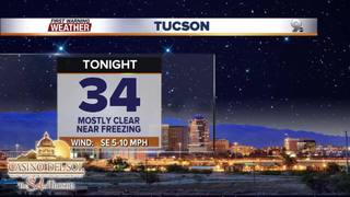 FORECAST: Near-freezing nights ahead