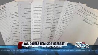 Warrant: Vail man admitted plotting murder