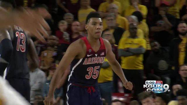 Arizona guard Allonzo Trier ruled ineligible, will miss game at Oregon State