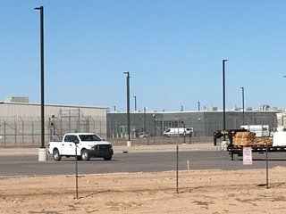 13 injured, riot at Red Rock Correctional Center