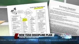 Discipline changes coming to TUSD