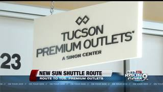 Sun Shuttle to Tucson Premium Outlets