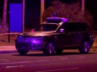 Self-driving Uber car hits, kills pedestrian