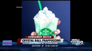 Starbuck's new 'Crystal Ball' Frappuccino
