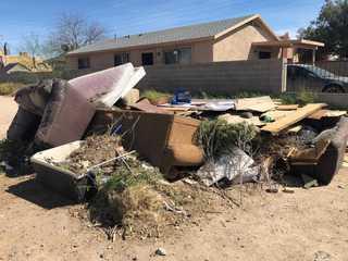 Illegal dumping in Sunnyside neighborhood