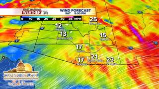 FORECAST: Windy and cooler