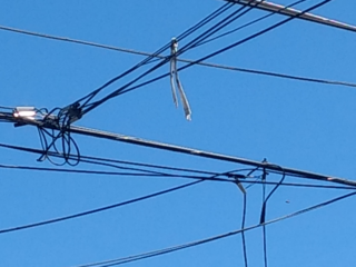 Tangled phone lines cleaned up in Armory Park