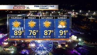 Windy start to the Pima County Fair