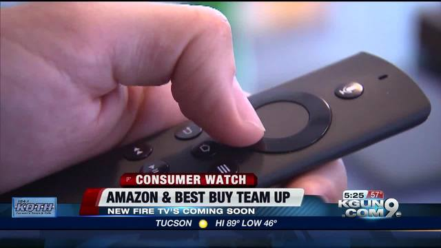 Amazon & Best Buy team up to deliver the Fire TV
