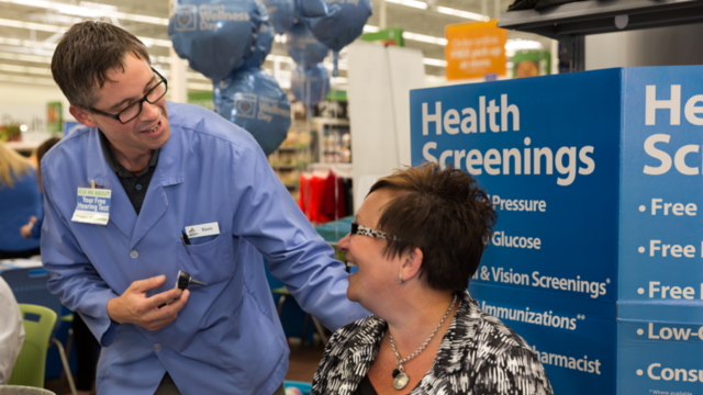 Wal-Mart to host second health screening event