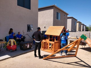 Tucson kids battling cancer receive playgrounds