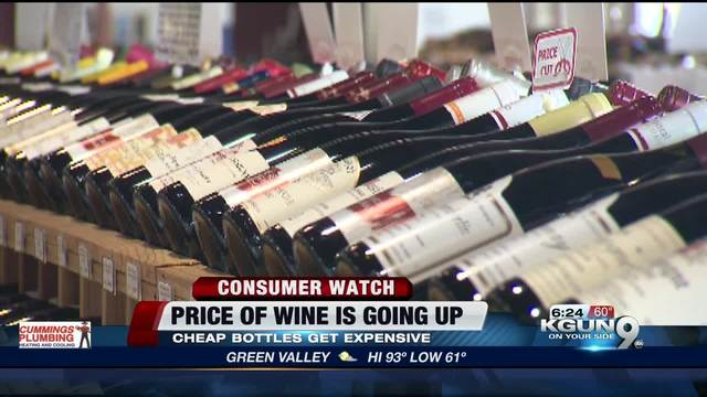 Why Cheap Wine May Be About To Get More Expensive Everywhere