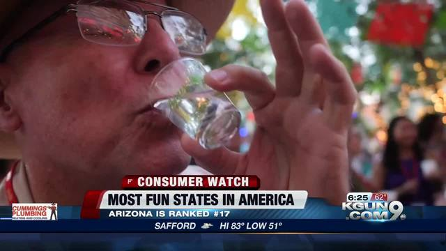Nevada ranked third most fun state to visit in America